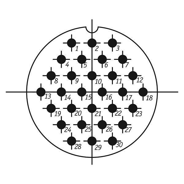 SSHR55PK30NSH1 CABLE PLUG