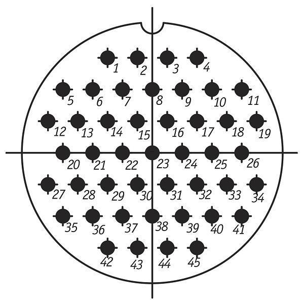 SSHR60U45NG3 CABLE PLUG
