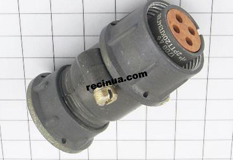 2RTT20KPE4G6V cable socket
