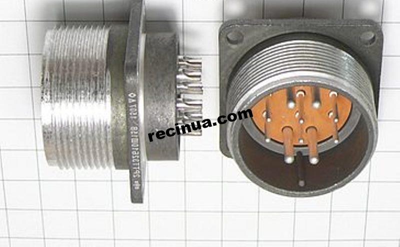 2РТТ32Б10Ш15В вилка кабельная