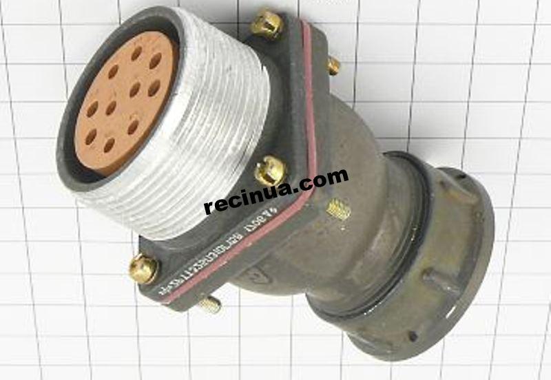 2РТТ32БПЭ10Г15В розетка кабельная