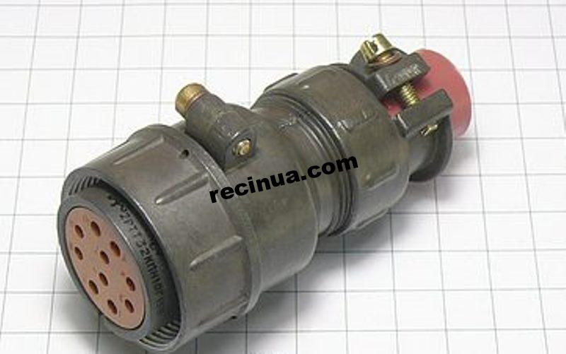 2РТТ32КПН10Г15В розетка кабельная