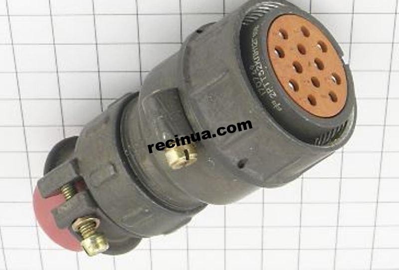 2РТТ32КПН12Г16В розетка кабельная