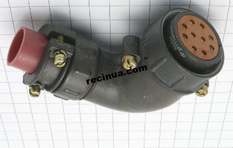2РТТ32КУН10Г15В розетка кабельная