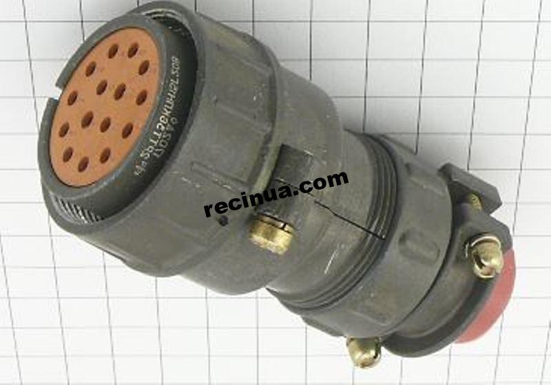 2РТТ36КПН15Г20В розетка кабельная