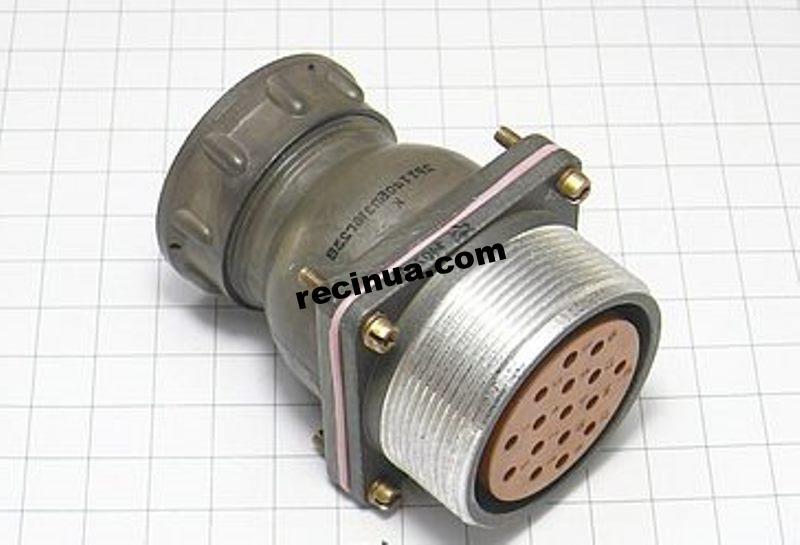 2РТТ40БПЭ16Г23В розетка кабельная