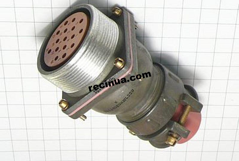 2РТТ40БПН16Г23В розетка кабельная