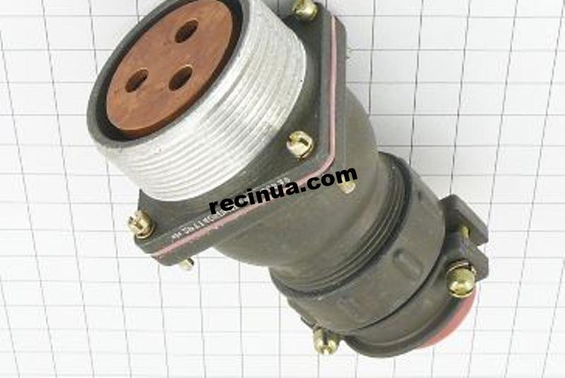 2РТТ40БПН3Г21В розетка кабельная