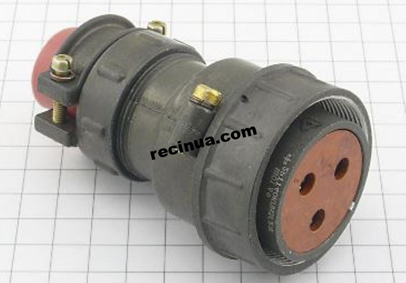 2РТТ40КПН3Г21В розетка кабельная