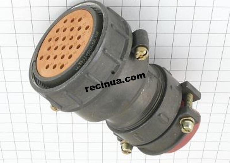 2РТТ48КПН26Г29В розетка кабельная