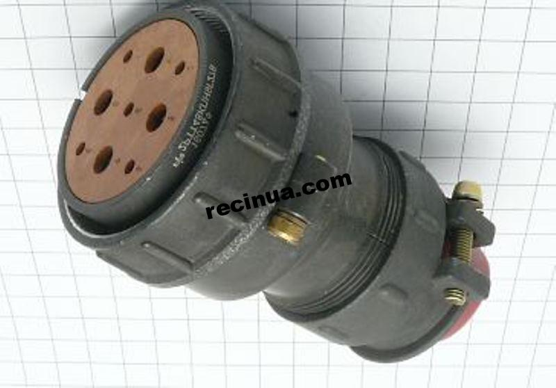 2РТТ48КПН9Г27В розетка кабельная