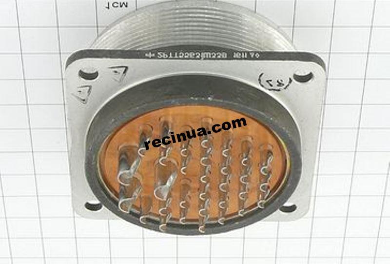 2РТТ55Б31Ш33В вилка кабельная