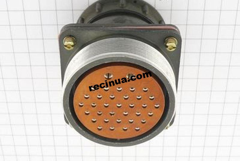 2РТТ55БПЭ35Г34В розетка кабельная