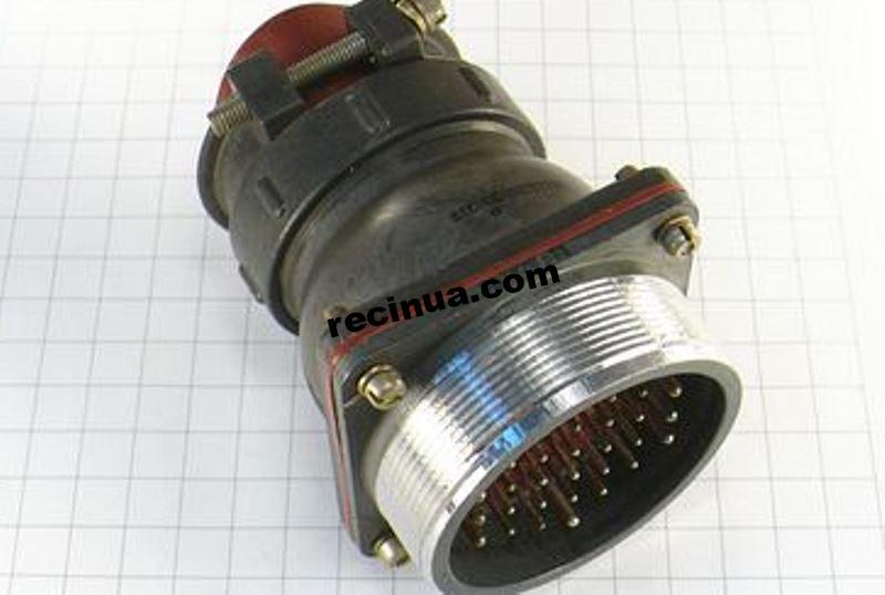 2РТТ55БПН30Ш32В вилка кабельная