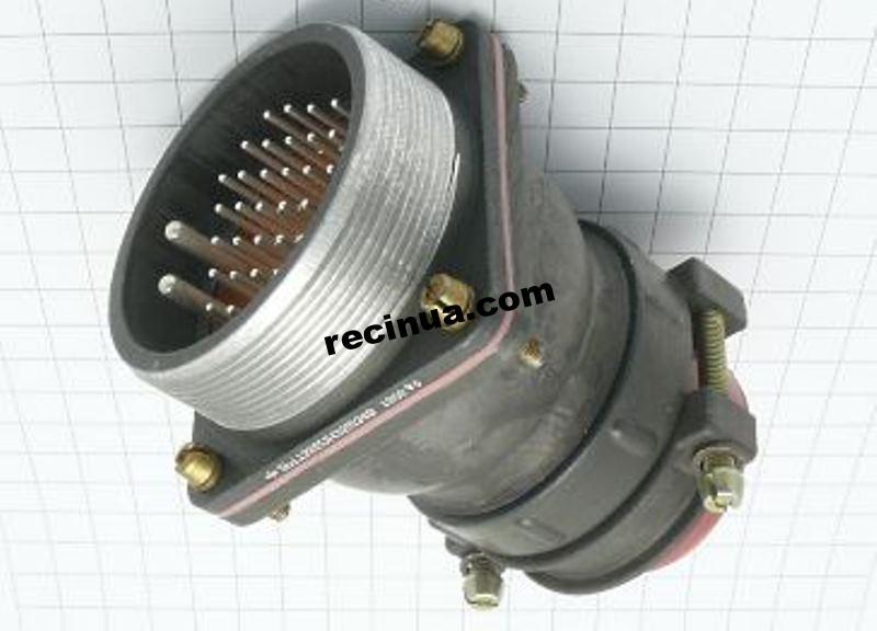 2РТТ55БПН35Ш34В вилка кабельная