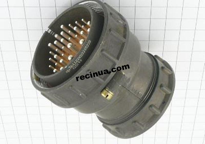 2РТТ55КПЭ31Ш33В вилка кабельная