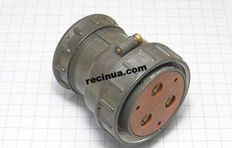 2РТТ55КПЭ6Г30В розетка кабельная