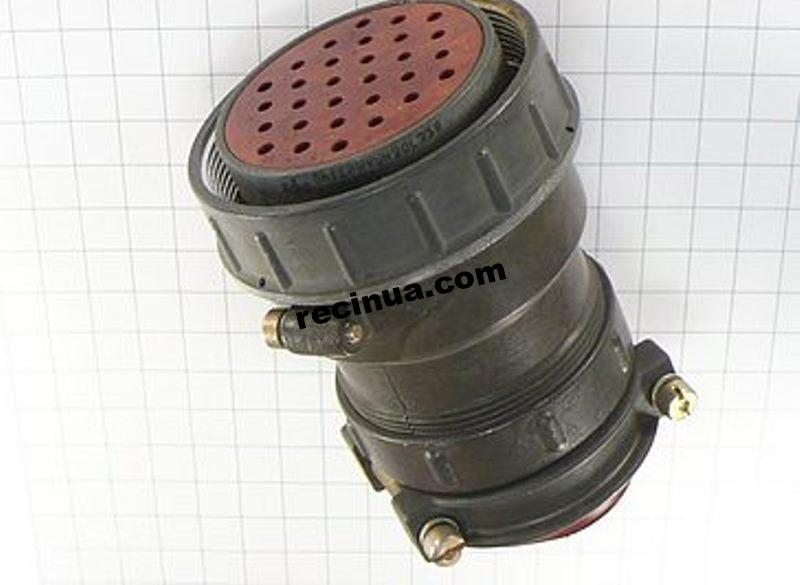 2РТТ55КПН30Г32В розетка кабельная