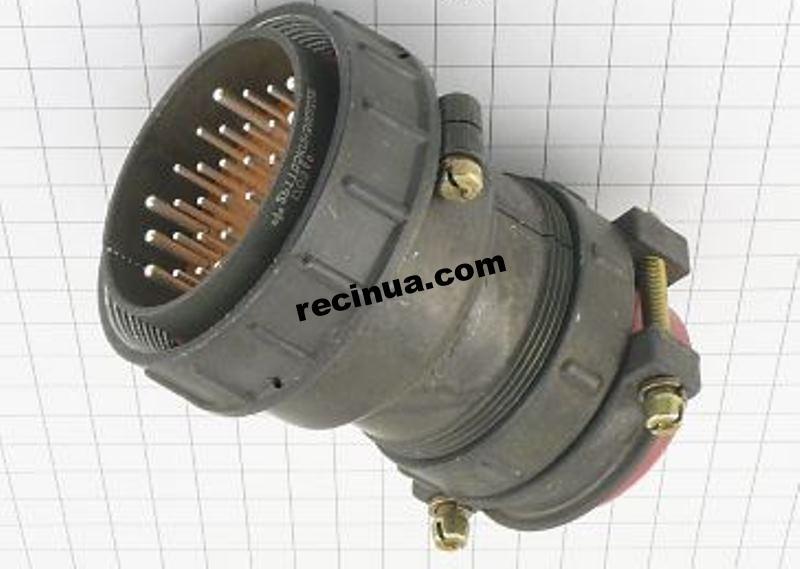 2РТТ55КПН30Ш32В вилка кабельная