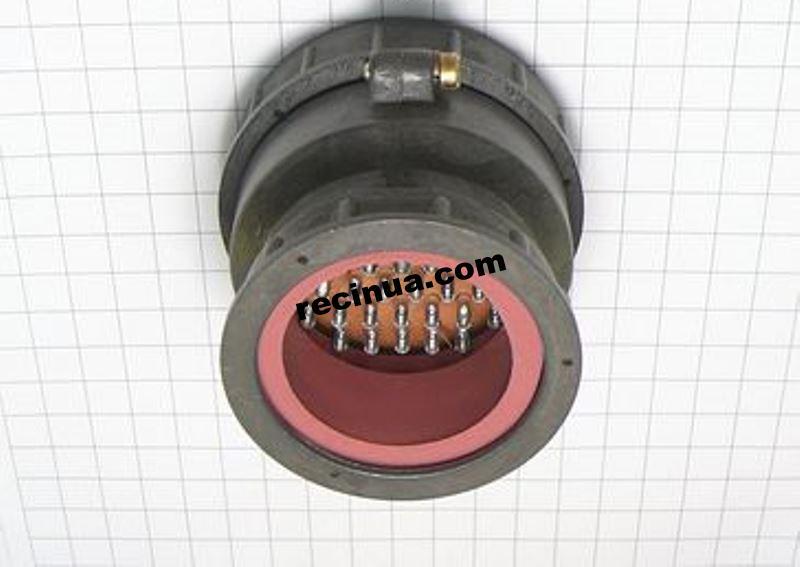 2РТТ60КПЭ47Г37В розетка кабельная