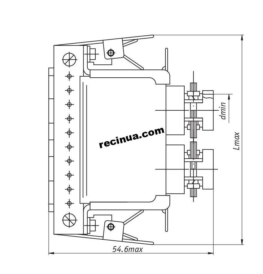 Розетка РГ1-П2Г51П1-В