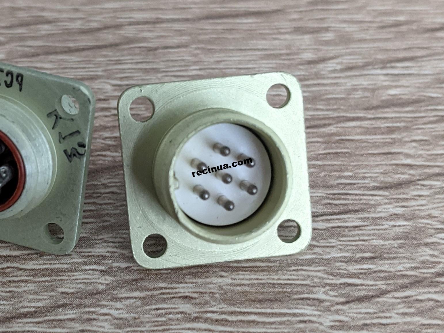Вилка герметичная РСГ7БТВ без кожуха